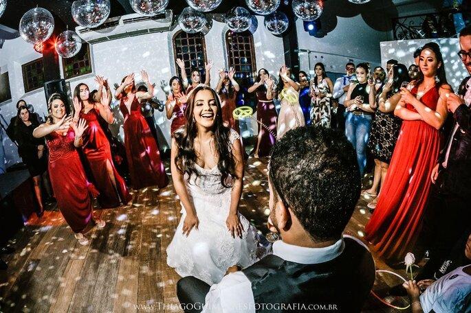 Pista de dança na Casa Orla
