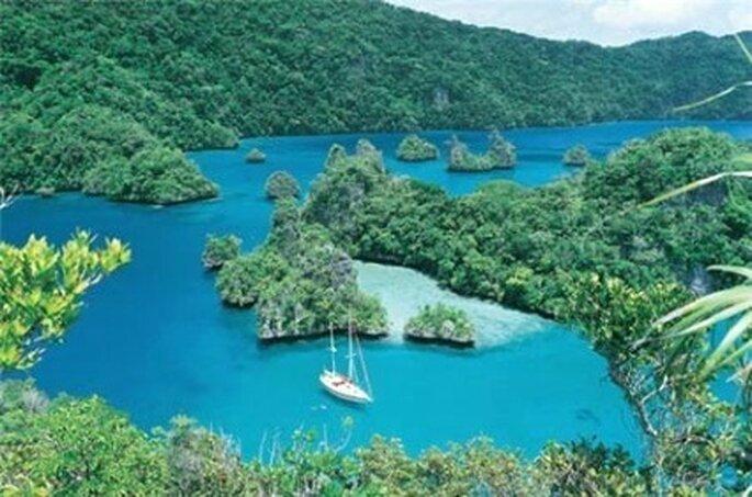 Una de las 333 islas y atolones del pacífico sur