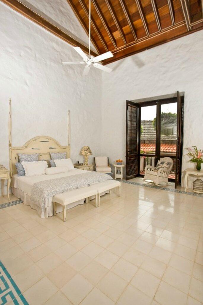 Gran Suite Conde Quero.   Foto: Hotel Boutiquen Casa Quero.