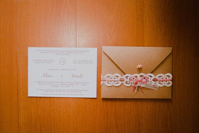 convite aline renato
