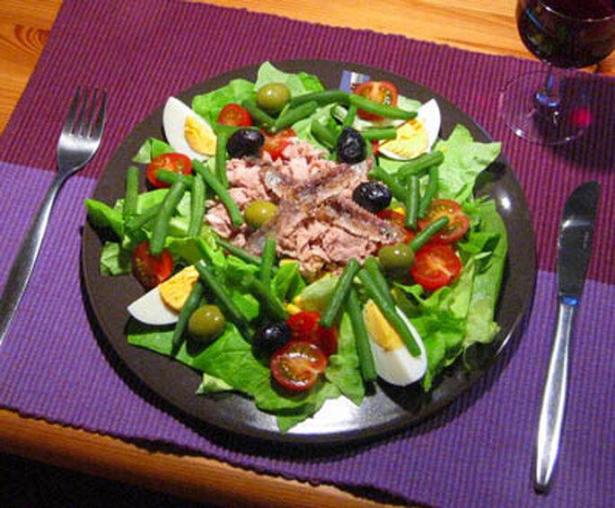 Bon et équilibré: une salade composée