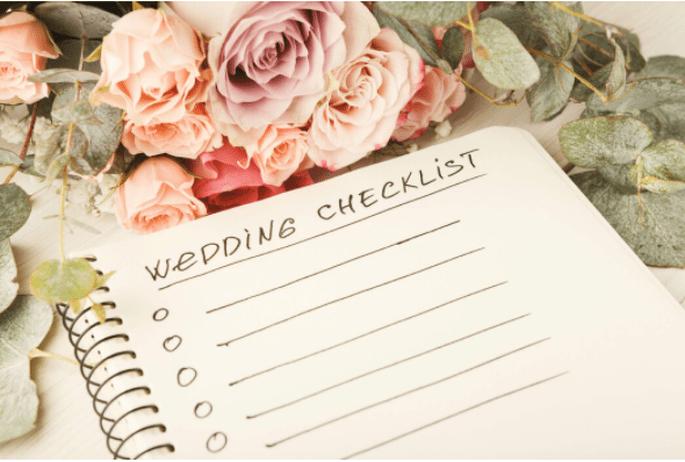 Wedding Cecklist