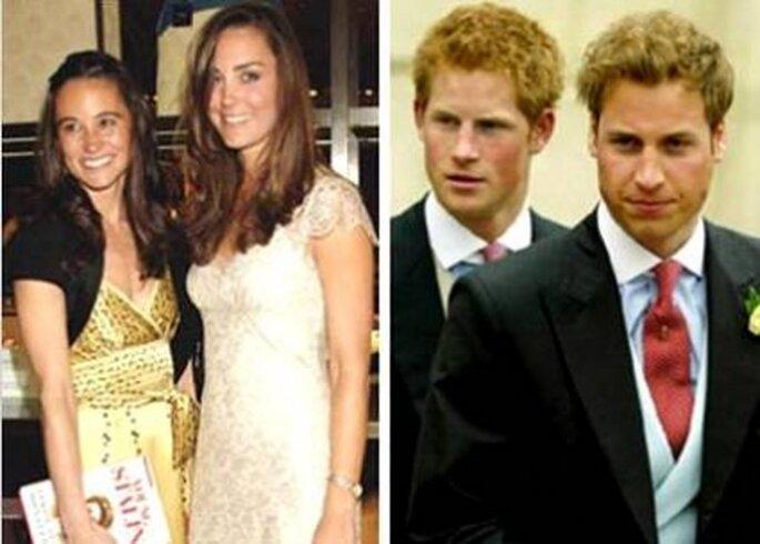 Padrinos de la boda real serán los hermanos de cada uno de los contrayentes