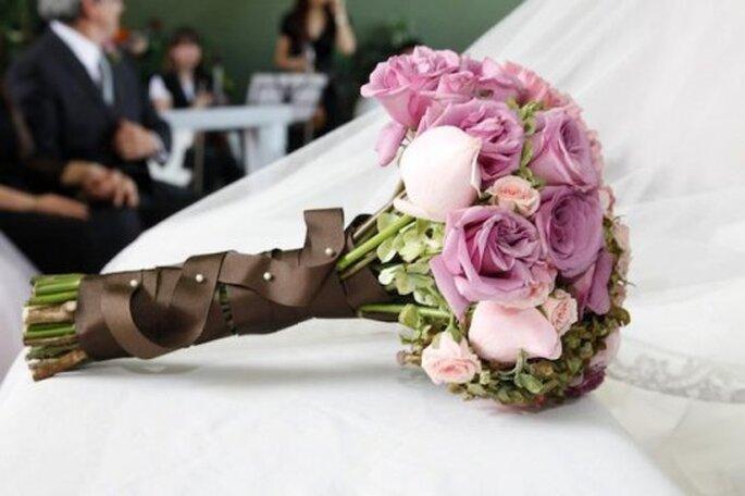 Ramos de novia estilo bouquet. Foto de Maria Limón Atelier Floral