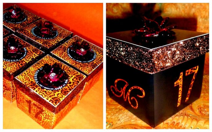 Diseños para invitaciones de boda. Foto del sitio de Victor Jacobo, diseño gráfico.