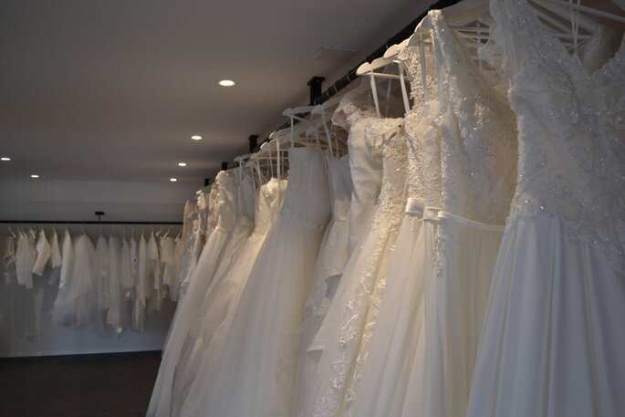 Venzin Brautmode Auswahl