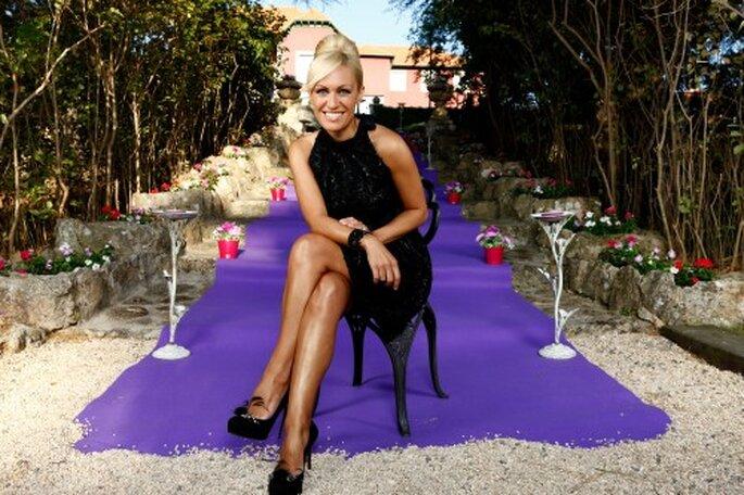 Luján Arguelles presentadora de Cuatro.  Foto: Roberto Garver