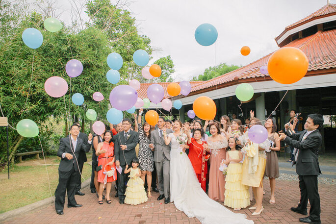 Globos para decorar tu boda - Foreveryday Photography