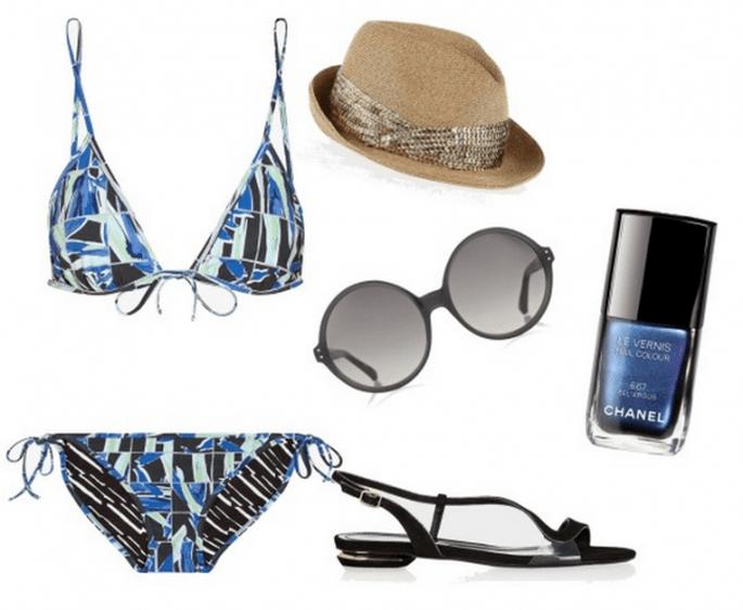 Los bikinis más hot para lucir sexy en tu luna de miel - Fotos de Net A Porter / Collage hecho con Clothia