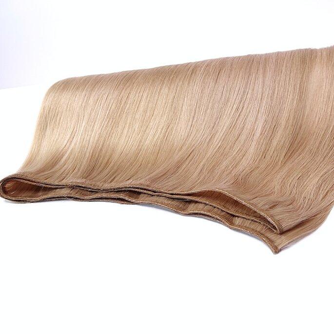 Extensions für Hochzeitsfrisuren mit langen Haaren, Tressentechnik