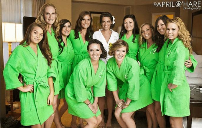 Día de spa con tus damas de boda - Foto April O' Hare