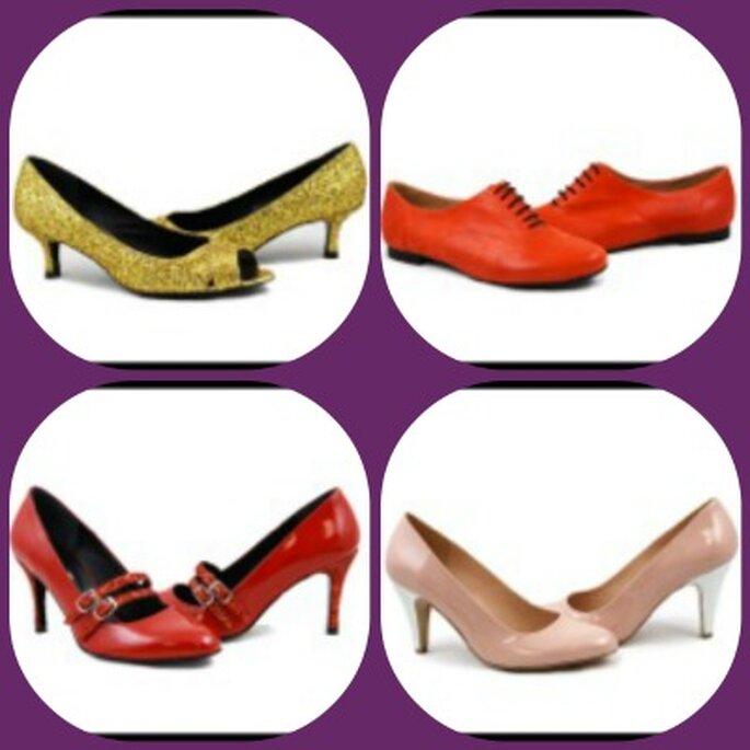 Pailletées, à brides, à lacets, plates ou à talons : vos chaussures de mariée vont faire sensation ! Crédits photos : Dessine-moi un soulier