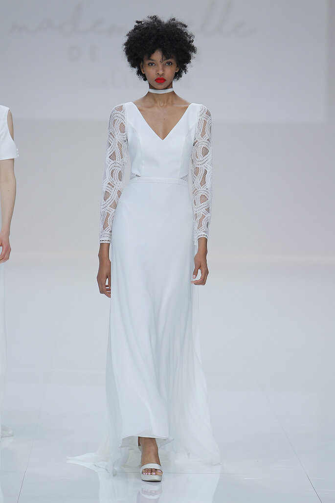 Kleid von Cymbeline. Credits: Barcelona Bridal Fashion Week