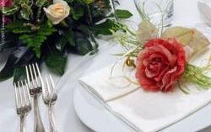 Come decorare i tavoli per il banchetto?