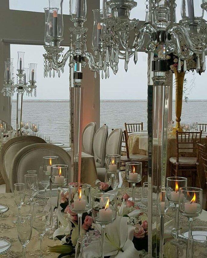 Patricia Martínez - Wedding Planners Bogotá Decoración frente al mar