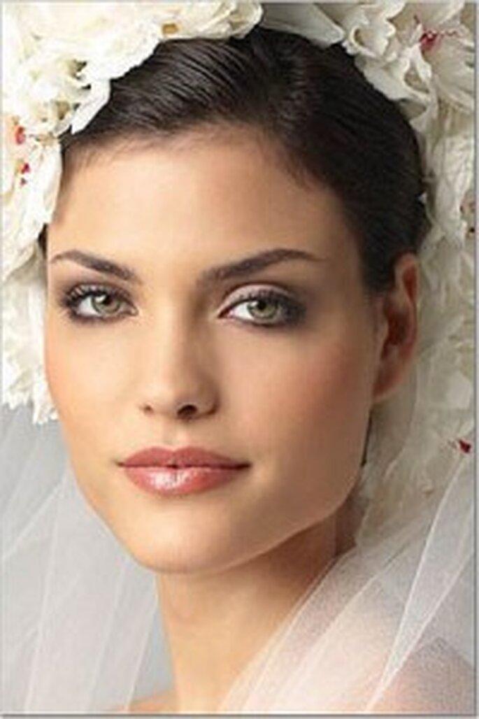Maquillaje natural de novia