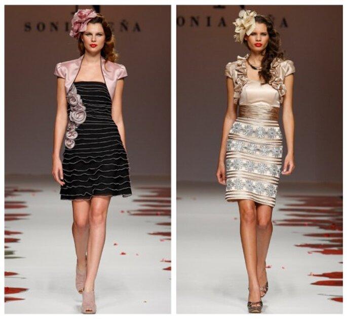 Kurze Kleider von Sonia Peña aus der Kollektion 2012. Perfekt für Ihre standesamtliche Trauung.