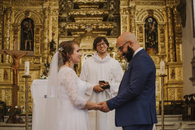 Casamento na na igreja