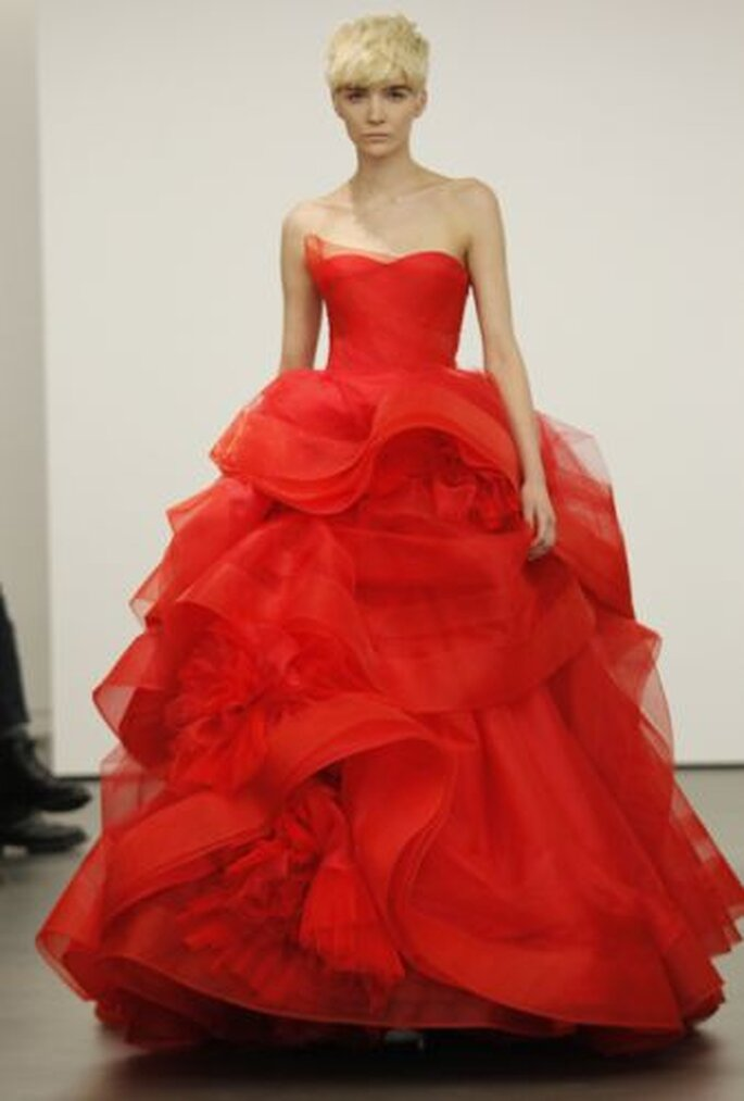 Robe de mariée Vera Wang 2013