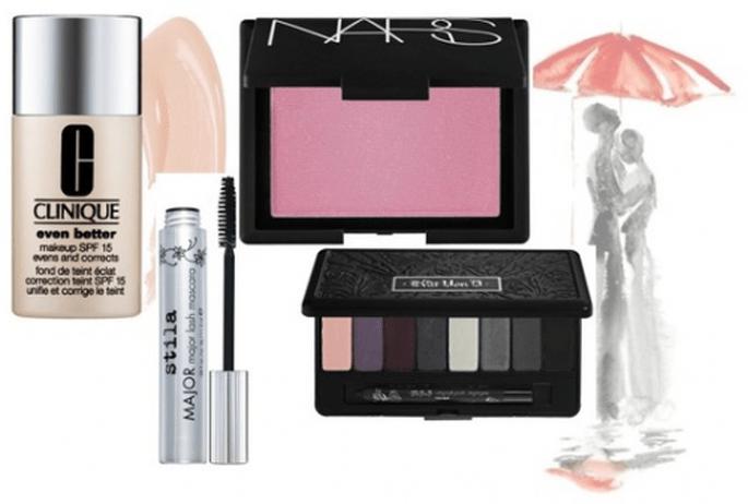 Productos de maquillaje para la esposa - Foto Clinique, Stila, Nars y Kat Von D en Sephora