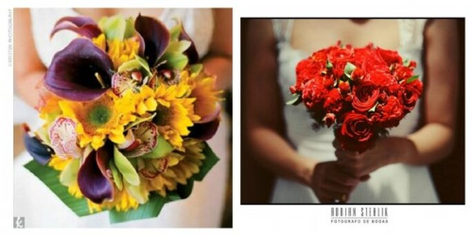 Suchen Sie sich Ihre Lieblingsblumen zusammen und schon kann das Straußbinden losgehen – Foto: Kristen Photografy, Adrian Stehlik
