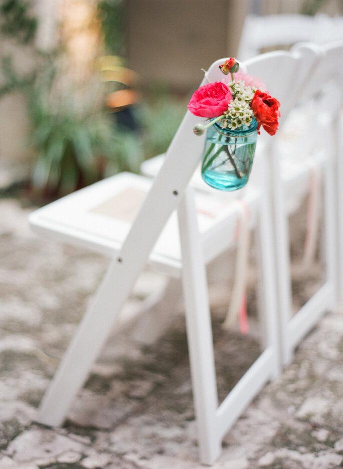 Las ideas más originales para usar los mason jars en tu boda - Kat Braman