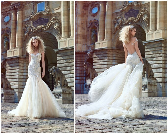 Image: Galia Lahav Ivory Tower Haute Couture Collection, dress 1610 Adeline