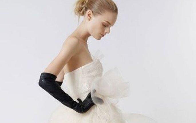 Scegliere l'abito in base alla misura del seno -Abito Vera Wang
