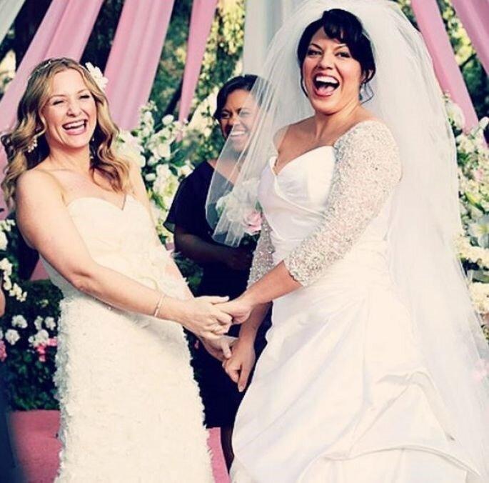 Credits: Arizona & Callie – Grey's Anatomy Instagram