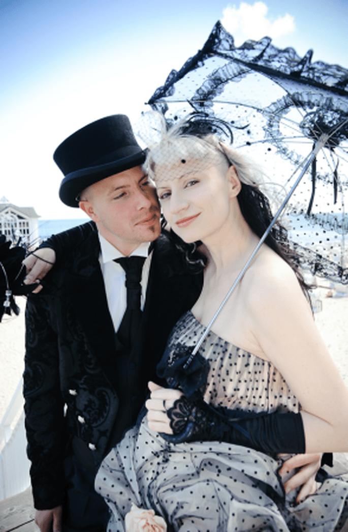 Nostalgisch im französischen Stil heiraten – Foto: Monique Zoellner