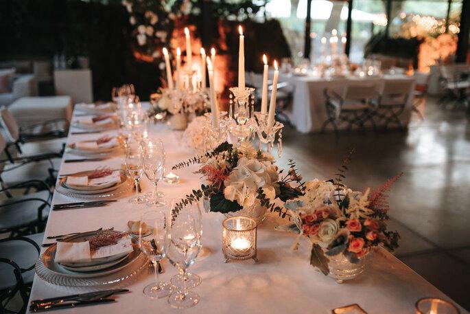 mesa de jantar casamento