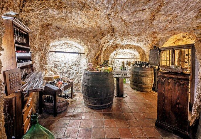Castello di Limatola - cantina