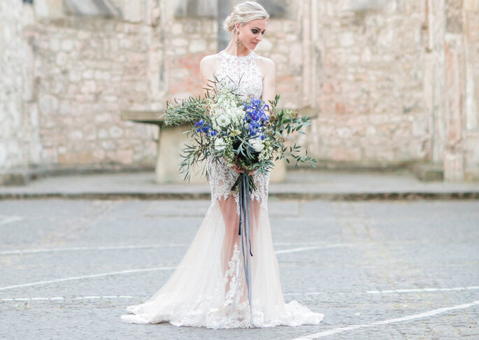 Brautkleid im Vintage Stil