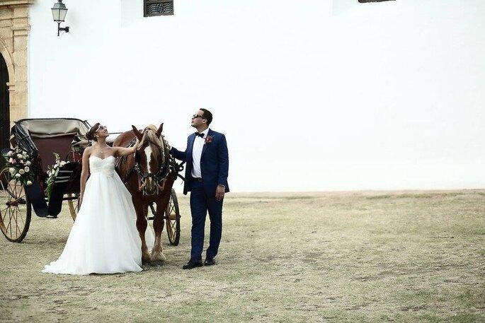 Marialejandra Planners carruaje boda