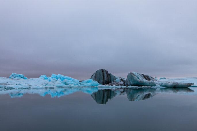 Le glacier de Jökulsárlón est un spectacle incroyable. Crédit : Dag Endre Opedal