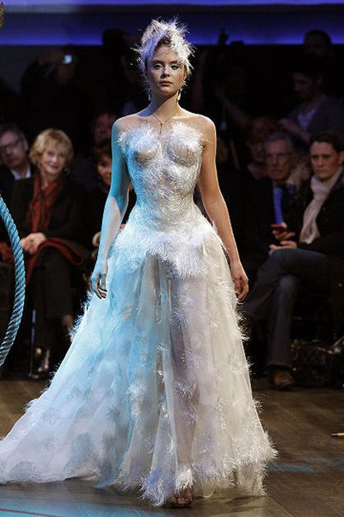 Vestidos de novia alta costura más originales - Frank Sorbier