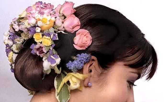 peinado especial para la boda