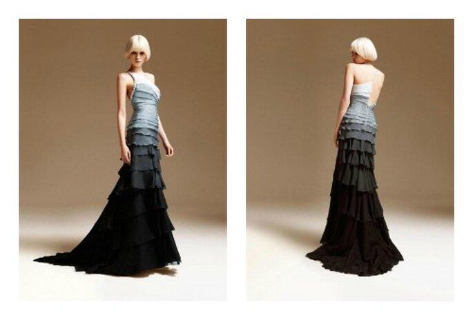 Dal bianco al nero passando per il grigio. Foto: Versace