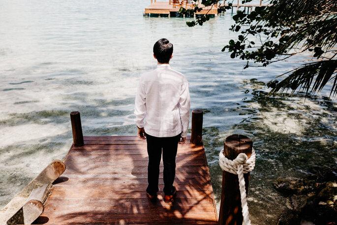 Fotografía de bodas en Bacalar