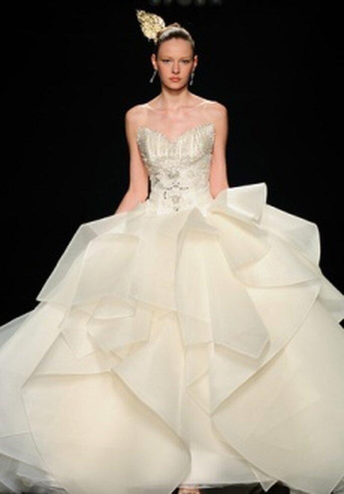 Colección de vestidos de novia Lee Seung Jin 2011