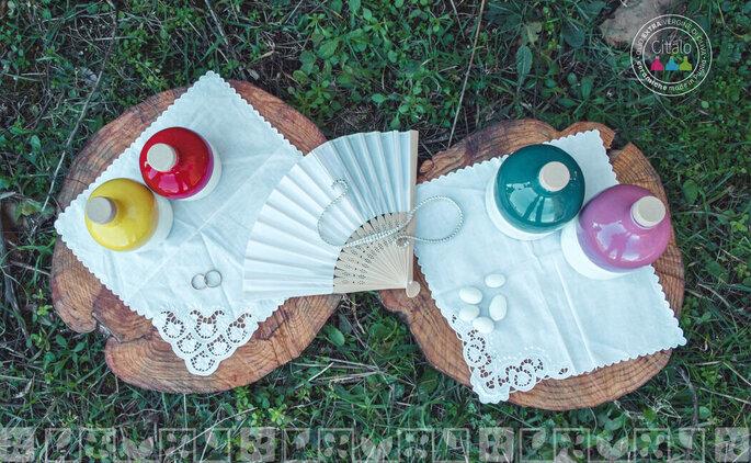 Bomboniere colorate e personalizzabile