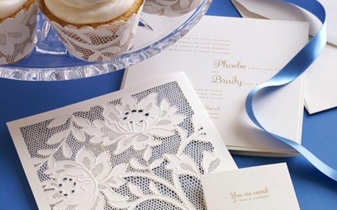 Invitaciones de Vera Wang con diseños muy elegantes y modernos