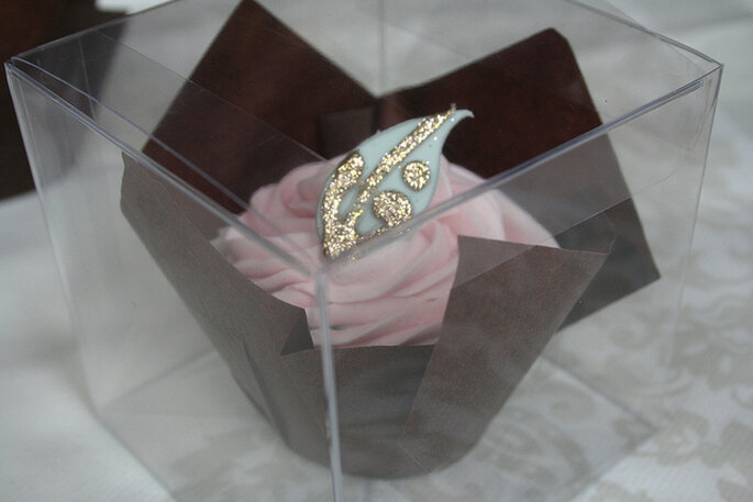 Cupcake de regalo. Foto: Victoria Watkin Jones via Victoria Made