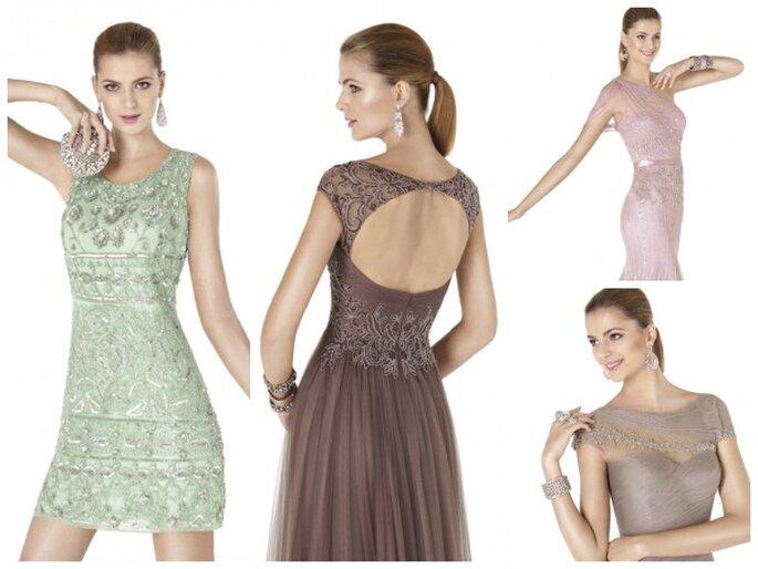 Vestidos de fiesta primavera 2015 de Pronovias