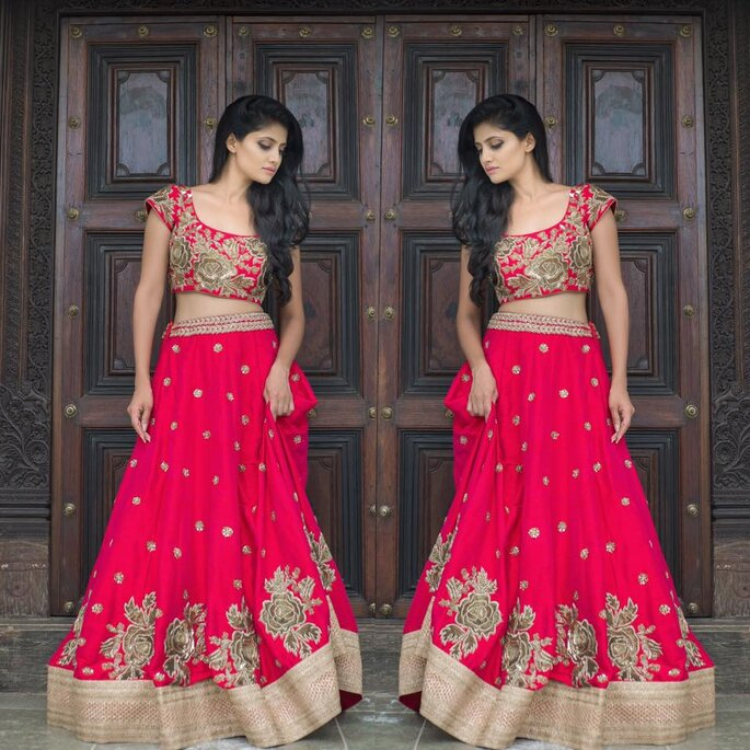 fa17c94dd6 How to select your dreamy lehenga colour combinations