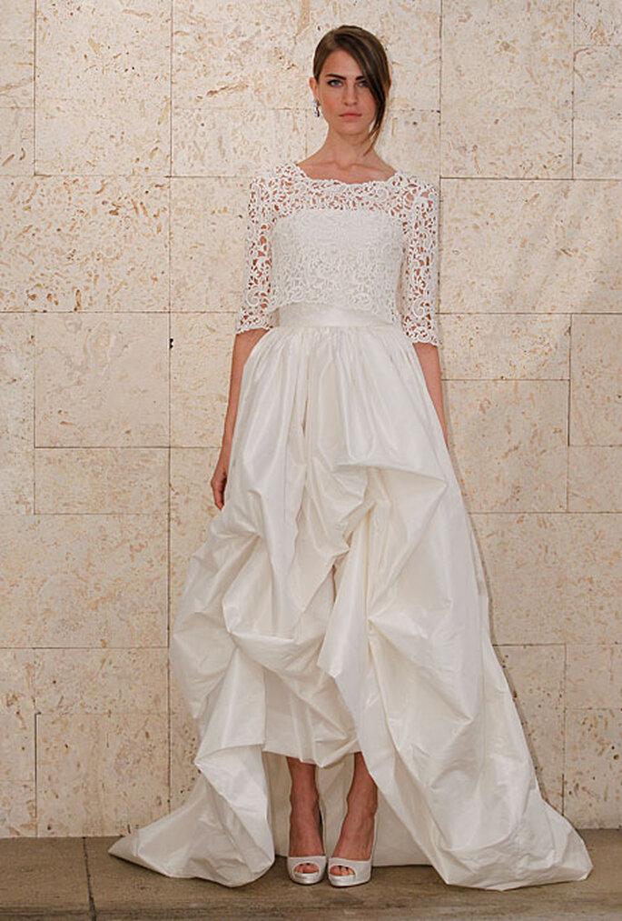 Vestido de novia de Oscar de la Renta - Otoño 2012