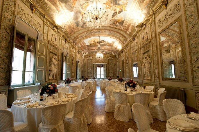 Palazzo Gnudi - Interni