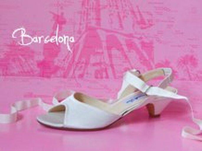 Chaussure de mariée La Paseo de Gracias - 155€