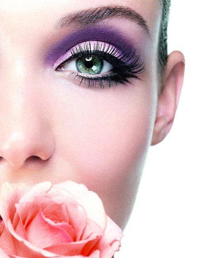 Katzenaugen mit Eyeliner sehen besonders dramatisch aus – Foto: Lancome Make-up Blog via Facebook
