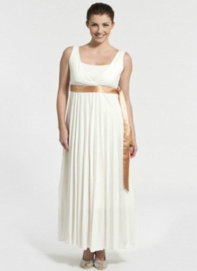 Robe de mariée pour femme enceinte - Source : mamaNANA